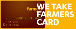 Farmers Card promo